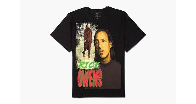 Modern Man выпустили «концертные» футболки с Риком Оуэнсом. Изображение № 1.