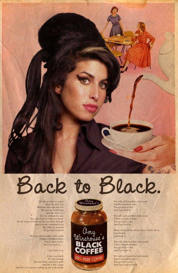 Ads Libitum: Звезды поп-культуры на винтажных рекламных плакатах. Изображение № 20.