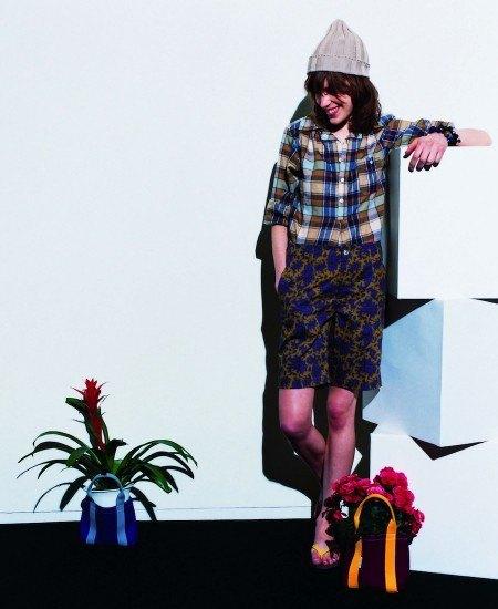 Японская марка Beams опубликовала лукбук весенней коллекции одежды. Изображение № 18.