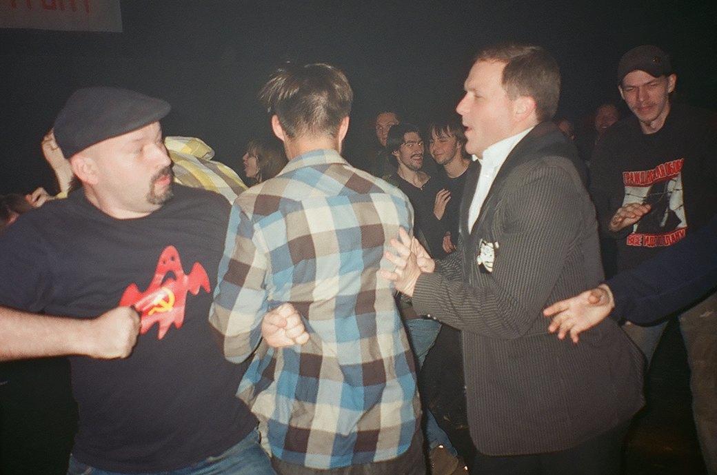 Фоторепортаж: Концерт «Панк-фракции красных бригад» в театре имени Вс. Мейерхольда. Изображение № 22.