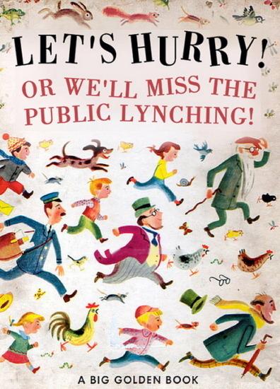Иллюстратор Боб Стэйк создал пародии на обложки старых детских книжек   . Изображение № 3.