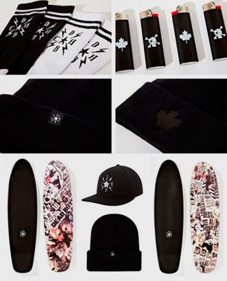 Марка Stussy и канадский дизайнер Райф Алделберг выпустили совместную коллекцию одежды. Изображение № 8.