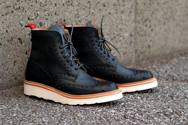 Дизайнер Ронни Фиг и марка Grenson выпустили капсульную коллекцию обуви. Изображение № 1.