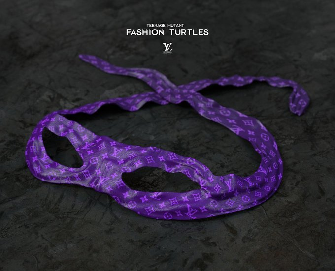 Дизайнеры придумали коллаборацию черепашек-ниндзя и модных брендов. Изображение № 4.