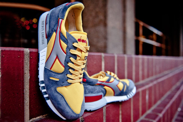 Итальянская марка Diadora выпустила весеннюю коллекцию кроссовок. Изображение № 2.