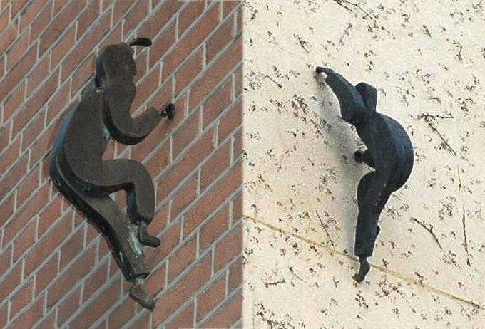 Уличные скульптуры, созданные неизвестными. Изображение № 1.