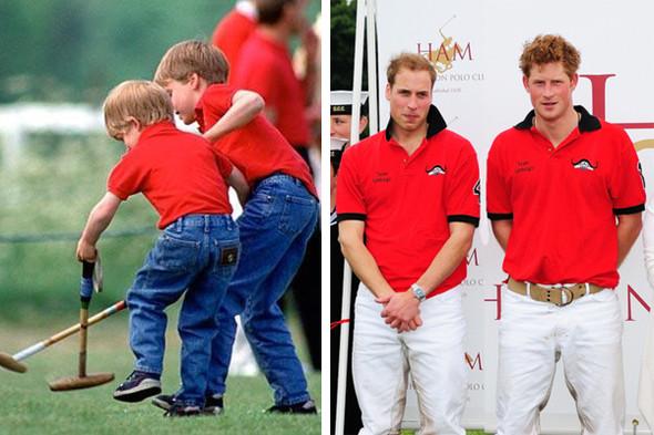 Принцам Уильяму и Гарри прививали хороший вкус с детства. Изображение №33.