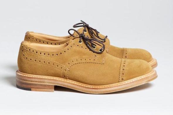 Совместная коллекция обуви Trickers и Superdenim. Изображение № 2.