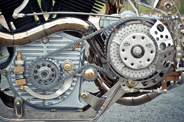 Мотоцикл немецкой мастерской Thunderbike победил в чемпионате мира по кастомайзингу. Изображение № 5.