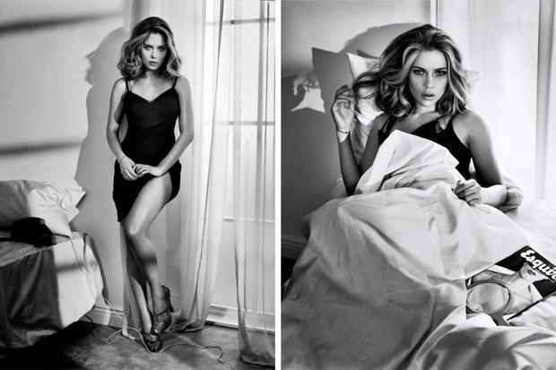 Американский Esquire назвал Скарлетт Йоханссон самой сексуальной девушкой года. Изображение № 3.