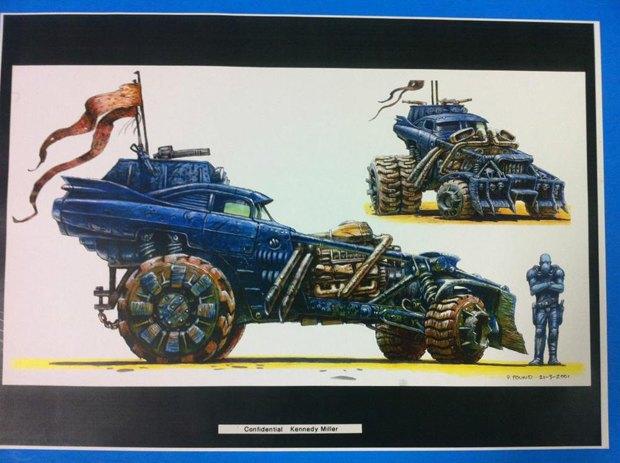 Опубликованы первые концепт-арты фильма «Безумный Макс: Дорога ярости». Изображение № 17.