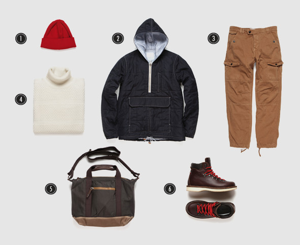 Соберись, тряпка: 8 осенних луков московских магазинов мужской одежды. Изображение № 8.