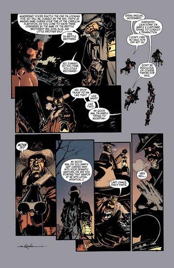 Вышли комиксы по фильму Тарантино «Джанго освобожденный». Изображение № 5.