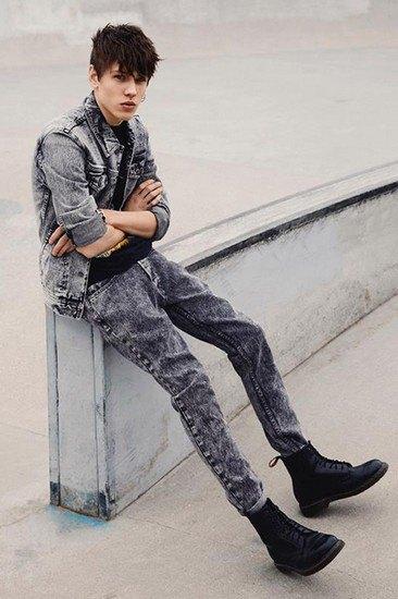 Марка Topman представила весеннюю коллекцию джинсовой одежды. Изображение № 1.