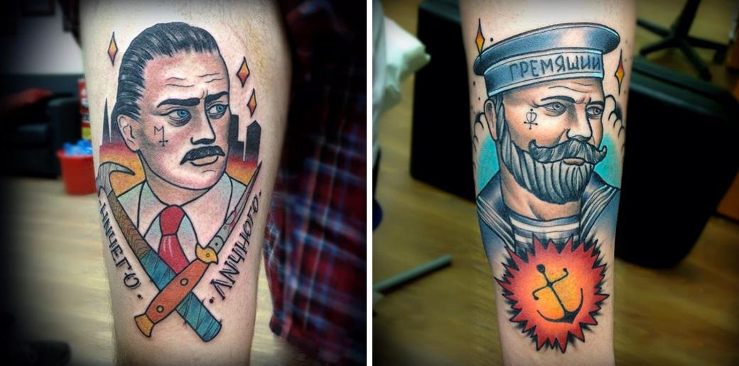 Русский народный олдскул: Традиционные татуировки на российский манер. Изображение № 15.
