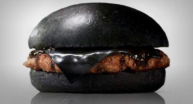Сеть Burger King выпустила чёрный гамбургер . Изображение № 1.