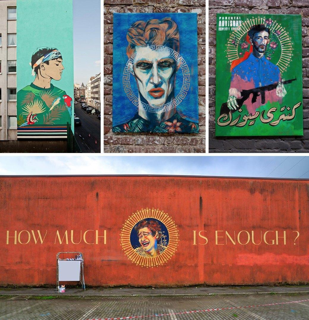 5 исламских уличных художников, выступающих за права женщин. Изображение № 2.