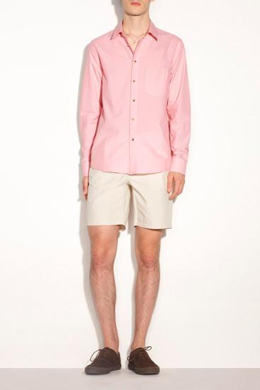 Марка A.P.C. опубликовала лукбук новой коллекции одежды. Изображение № 10.