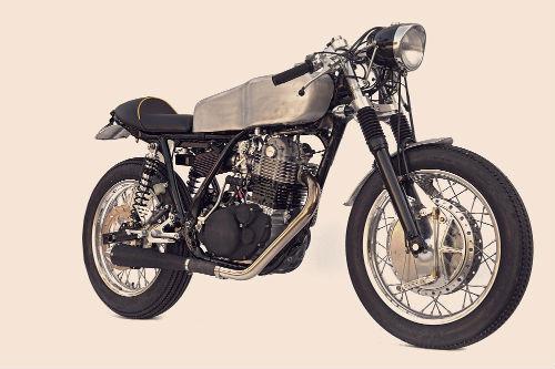 Мотоцикл Yamaha SR500 «The Venice» мастерской DEUS. Изображение № 1.