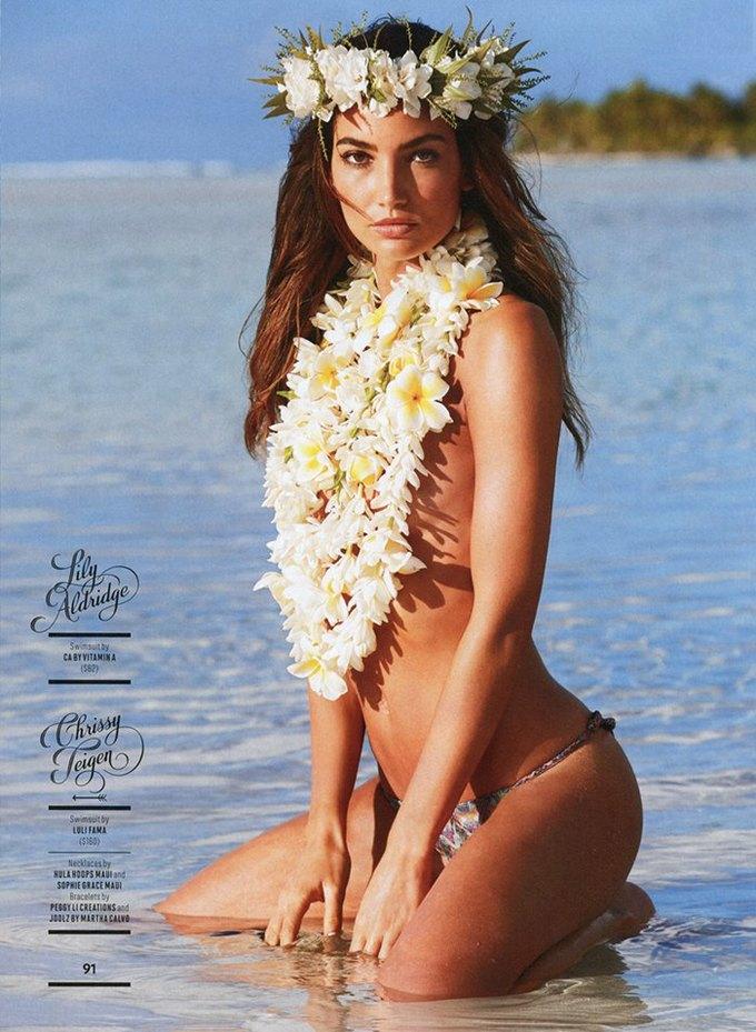 Вышел 50-й, юбилейный номер Sports Illustrated Swimsuit, посвящённый супермоделям в купальниках. Изображение № 2.