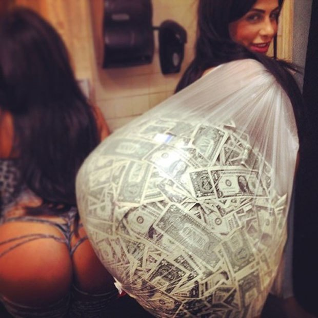 Stripper Locker Room: Блог с селфшотами стриптизёрш. Изображение № 12.