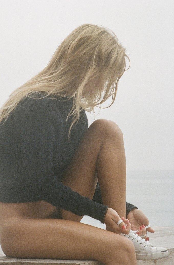 Американская модель Дора Йодер снялась для журнала Purple. Изображение № 5.