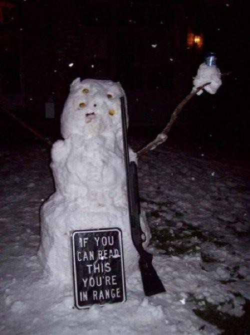 Что ты лепишь: Альтернативные снеговики со всего мира. Изображение №8.