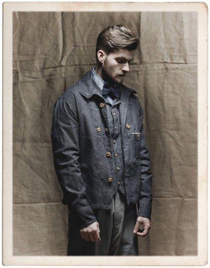 Марка Nigel Cabourn опубликовала лукбук весенней коллекции одежды. Изображение № 8.