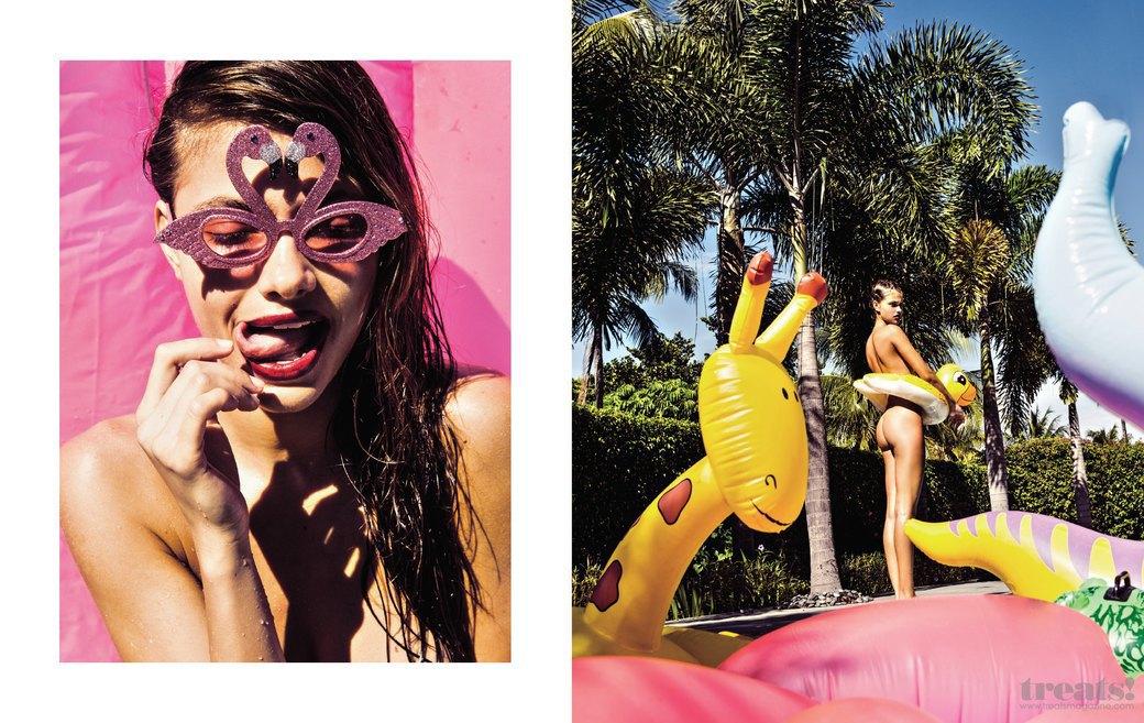 Леонардо Корредор сфотографировал украинскую модель Яру Хмидан для нового номера журнала Treats!. Изображение № 4.