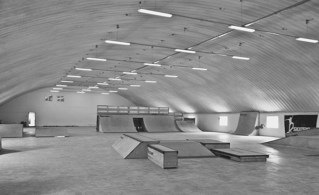 Скейт-парки с точки зрения архитектуры: 7 особенностей строения. Изображение № 14.