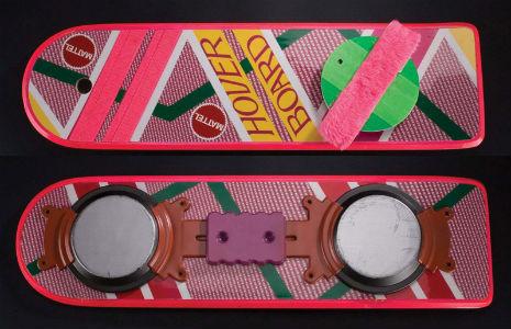 Компания Mattel выпустит летающий скейтборд из фильма «Назад в будущее». Изображение № 2.