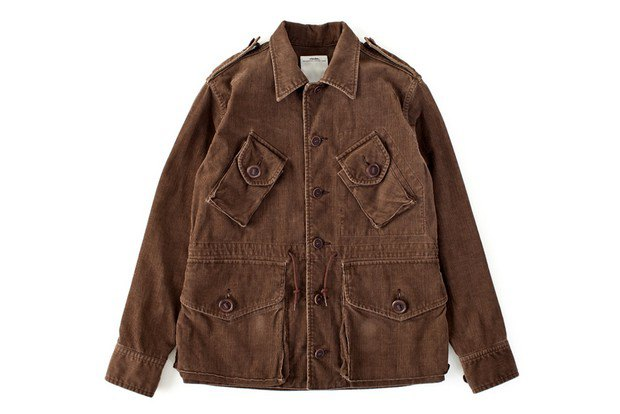 Японская марка Visvim представила первую часть весенней коллекции одежды. Изображение № 1.