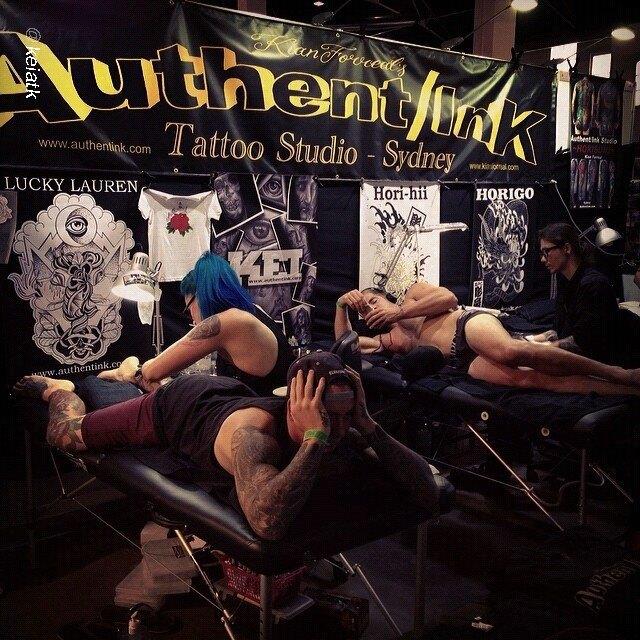Австралийская выставка Tattoo and Body Art Expo в Instagram-фотографиях её участников. Изображение № 2.