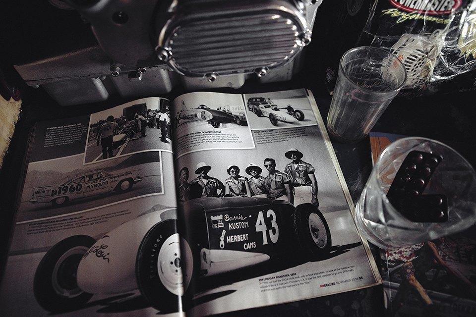 Болгарка, молоток и сварка: Интервью с  Глебом Чёрным, владельцем кастом-ателье мотоциклов . Изображение № 16.