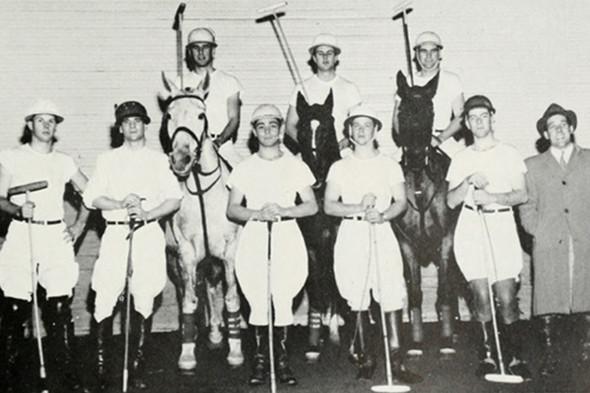 Команда поло Корнелльского университета, 1957 год. Изображение № 31.