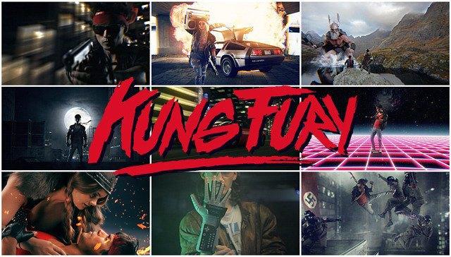 Kung Fury: Все штампы восьмидесятых в новом пародийном боевике. Изображение № 1.