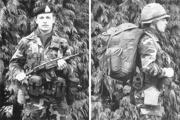 Форма люксембургской армии, конец восьмидесятых. Изображение № 2.