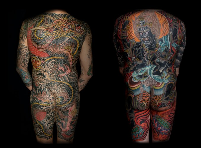 японские тату картинки