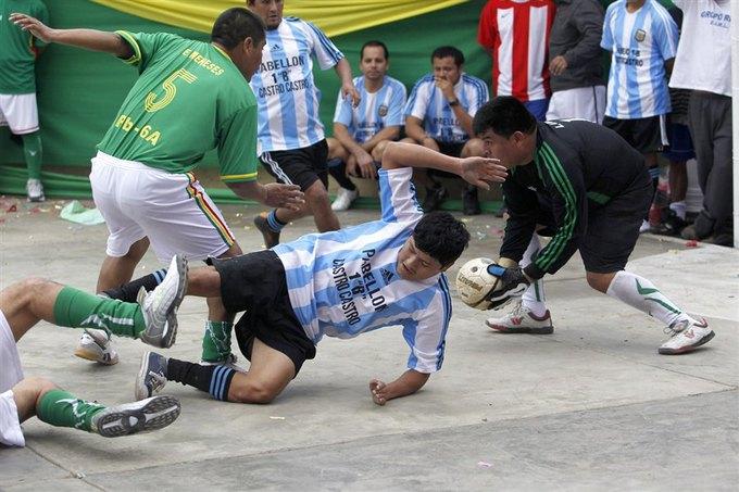 5 тюремных спортивных соревнований. Изображение № 1.