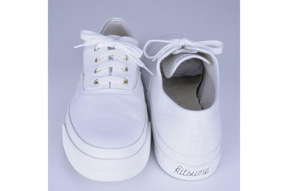 Kitsuné sneakers SS11, €200. Изображение № 6.
