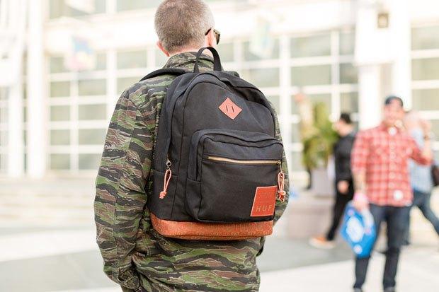 Марки Benny Gold, Huf и JanSport выпустили капсульную коллекцию рюкзаков. Изображение № 2.
