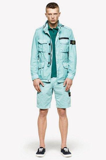 Марка Stone Island опубликовала лукбук весенней коллекции одежды. Изображение № 15.