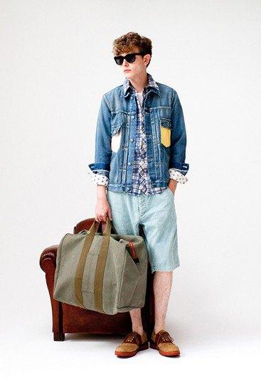 Японская марка Visvim опубликовала лукбук весенней коллекции одежды. Изображение № 23.