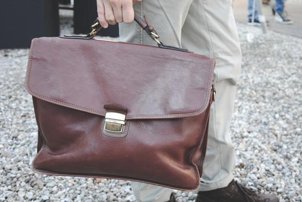Детали: Репортаж с выставки мужской одежды Pitti Uomo. День второй. Изображение № 1.