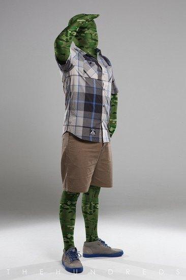 Марка The Hundreds опубликовала лукбук летней коллекции одежды. Изображение № 5.