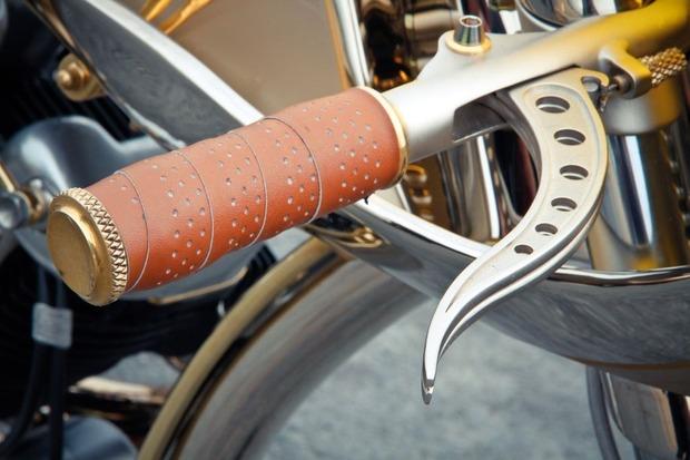 Мотоцикл немецкой мастерской Thunderbike победил в чемпионате мира по кастомайзингу. Изображение № 7.