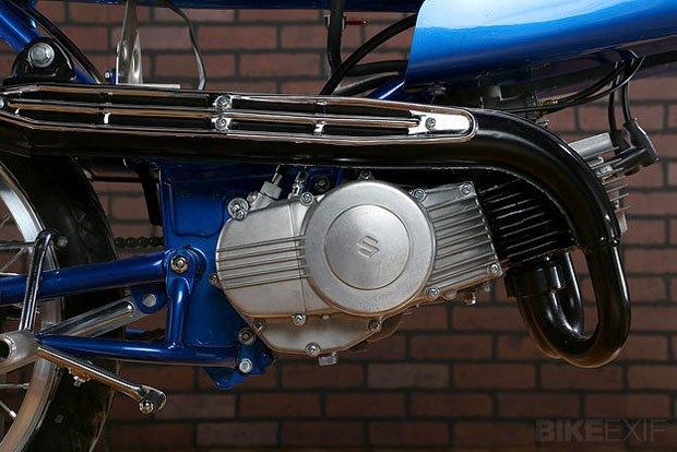 Мастерская Air-Tech Streamlining собрала новый мотоцикл на базе Suzuki Stinger. Изображение № 3.