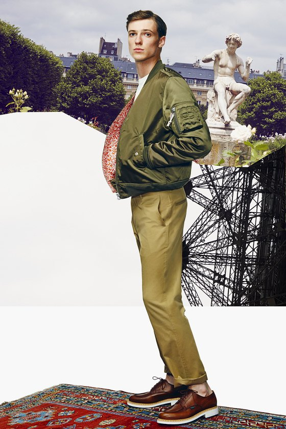 Французская марка Kitsuné опубликовала лукбук новой коллекции. Изображение № 9.