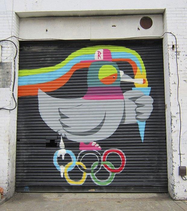 «Olympic pigeon, Ronzo Fu, 2012. Изображение № 9.