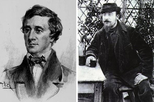 Писатель Генри Дэвид Торо, композитор Эрик Сати. Изображение № 3.